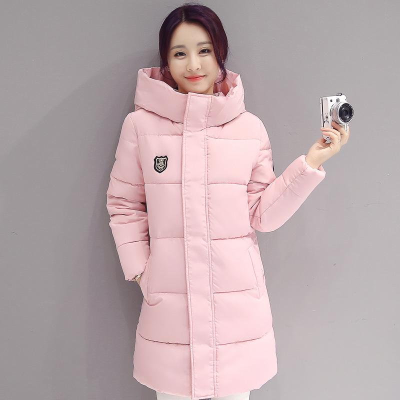19638d8ccc41 2019 2018 High Quality Fashion Down Coat Women Winter Longe Sections Hooded  Parkas Thick Warm Cotton Slim Jacket Winter Coat From Winkiya, $78.37 |  DHgate.
