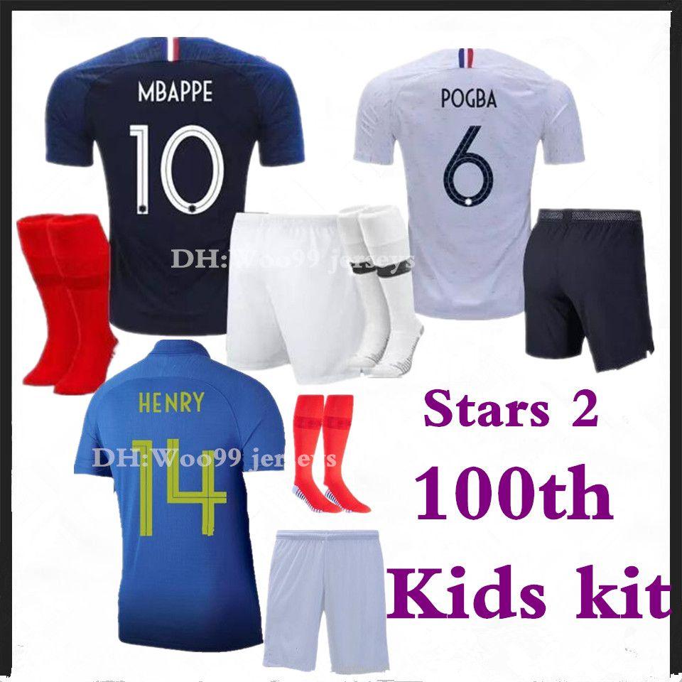 Algérie Coupe du monde 2018 Enfants T-Shirt Noir Maillot Football NR All 10 Sport