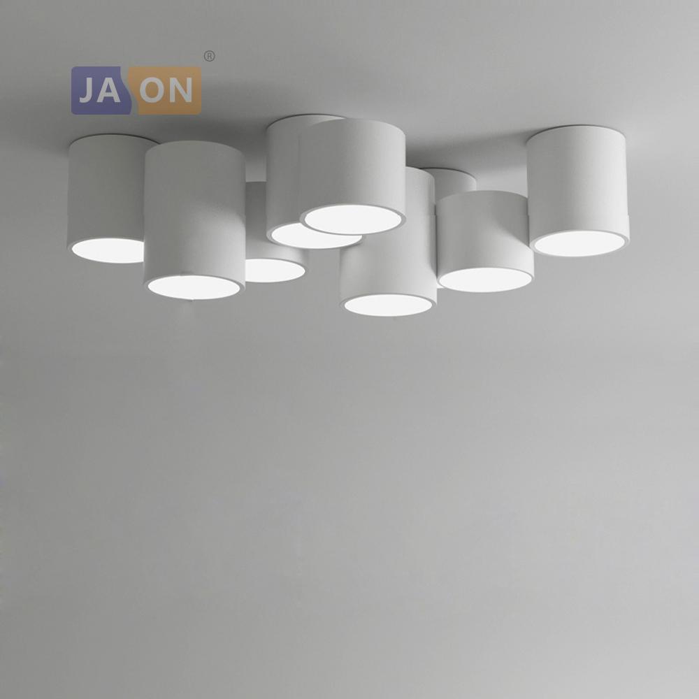 Fer Blanc PlafonnierLampe Led led ceiling Lights Cililing Bricolage De led Moderne Pour Chambre Noir Light Combinaison Lampe Acrylique tdQrsh
