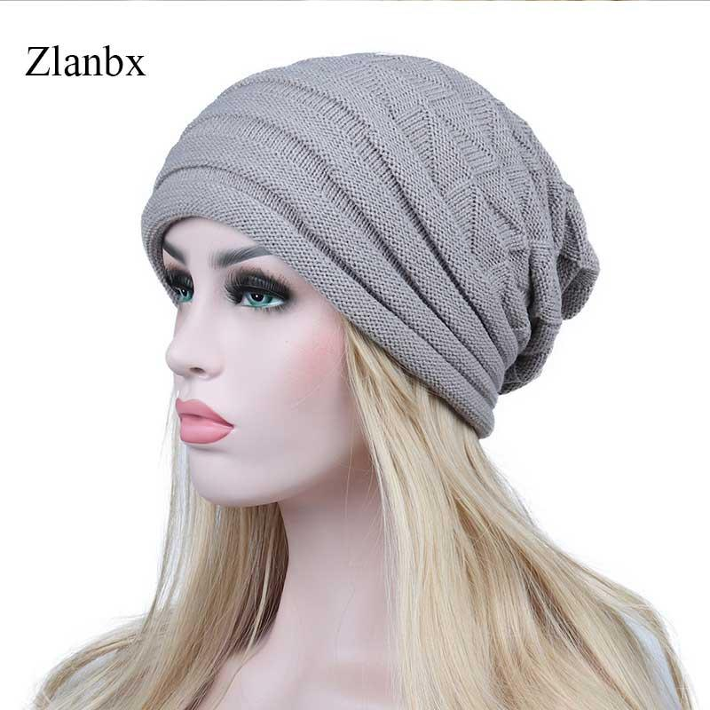 3457083e Winter Hats for Women Slouchy Knit Warm Cap Skullies Beanies Ladies ...