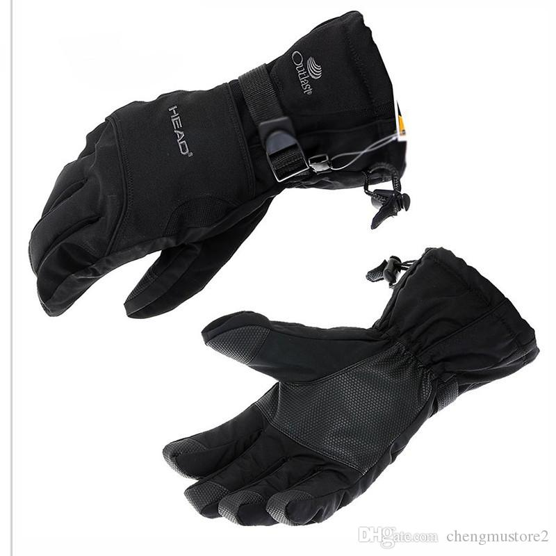 New Men's Skiing Gloves, Skiing Gloves, Snowmobiles, Winter Gloves, Wind-proof, Waterproof and Neutral Snow Sports Warming Gloves