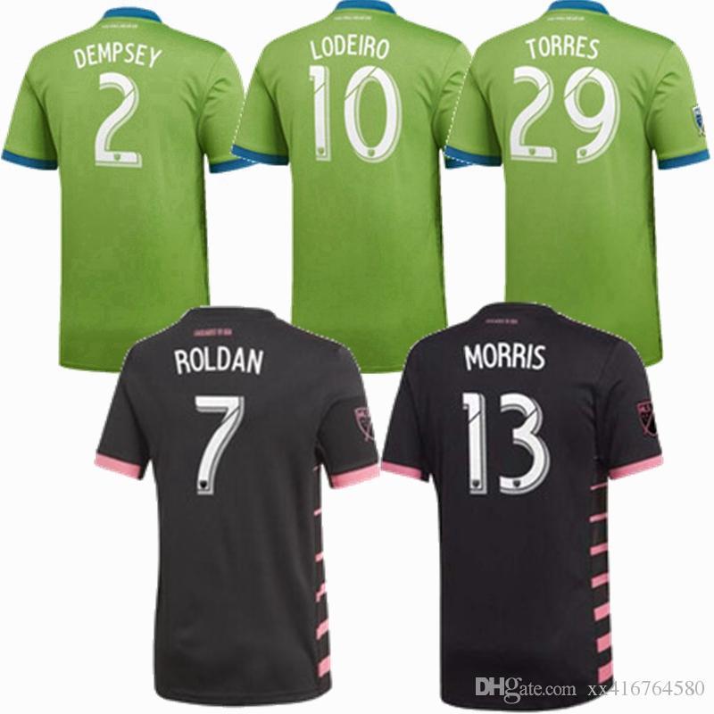 19414c457a220 Nueva Camiseta De Fútbol 2018 2019 2020 MLS 18 19 20 Seattle Sounders FC  Camisetas De Fútbol DEMPSEY LODEIRO RUIDIAZ S 2XL Por Xx416764580