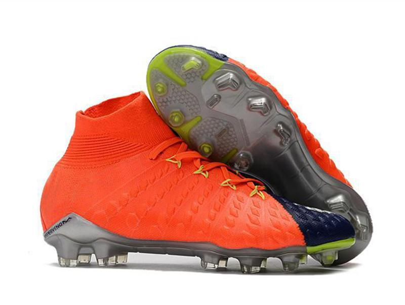 b5ac3d423af 2019 Mens Soccer Cleats Hypervenom Phantom III EA Sports FG For Men Soccer  Shoes Soft Ground Football Boots Cheap Rising Fast Pack Neymar Boots From  ...