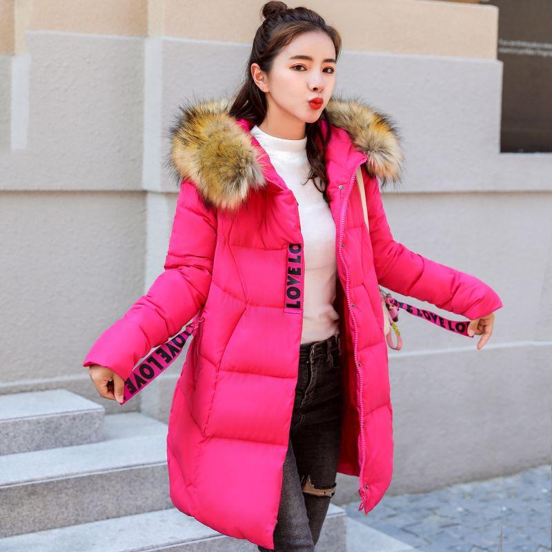 3fee7e3bb 2019 High Quality Cotton Padded Winter Jacket Women Hooded Long Outwear For  Womens Winter Jackets Plus Size Coat Parka Lj0763