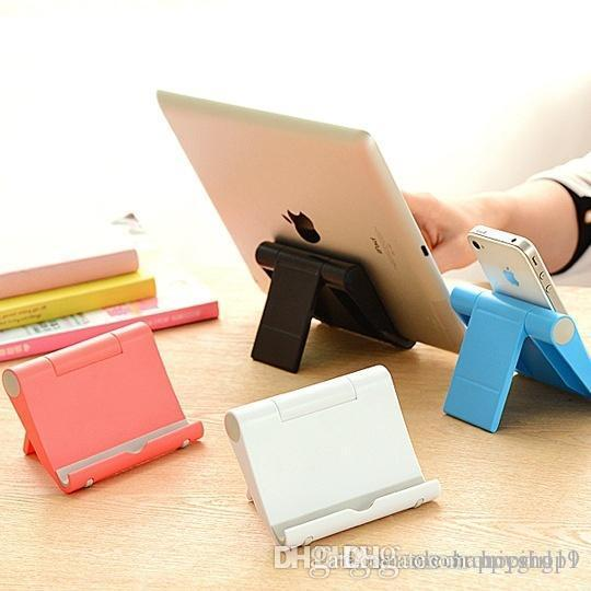 Universal Adjustable Foldable Cell Phone Tablet Desk Stand Holder Bracket for iPad Samsung iPhone 234