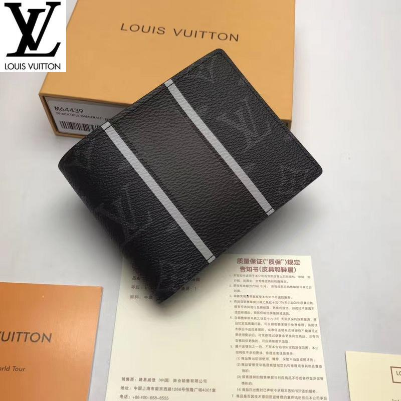 yuancheng5 M64439 2019 WOMEN REAL LEATHER LONG WALLET CHAIN WALLETS COMPACT PURSE CLUTCHES EVENING KEY CARD HOLDERS
