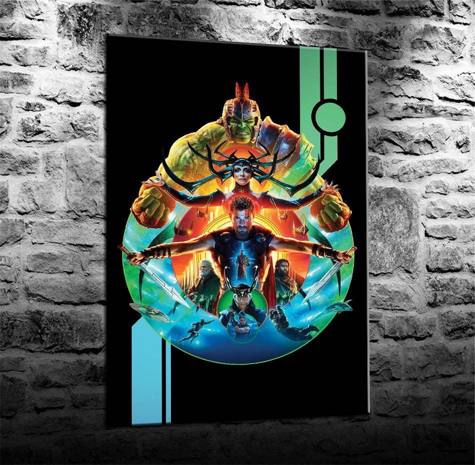 Satın Al Thor Ragnarok Hela Ev Dekorasyonu Hd Baskılı Tuval üzerine