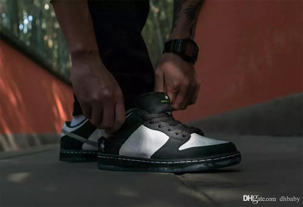 7d986563bb1 2019 2019 Hot Sale Authentic SB Dunk Low Staple Panda Pigeon Basketball  Shoes Black Green Gusto White Man Woman Sneakers BV1310 013 With Box From  Dhbaby