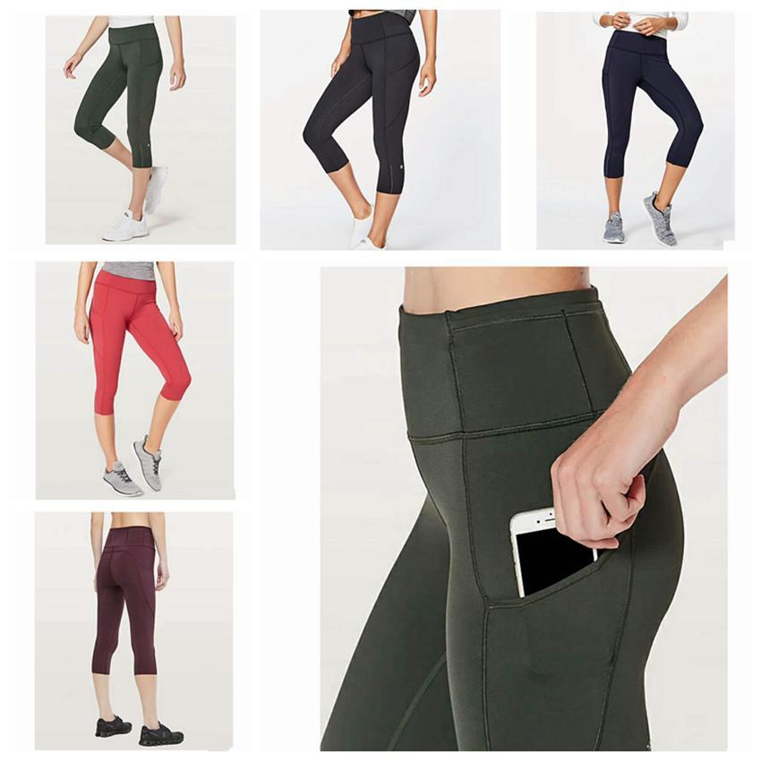 417d0548c03e 2019 Women Yoga Outfits Ladies Sports Capri Leggings Summer Short Pants  Exercise & Fitness Wear Girls Brand Running Leggings ZZA238 From Nb_sport,  ...