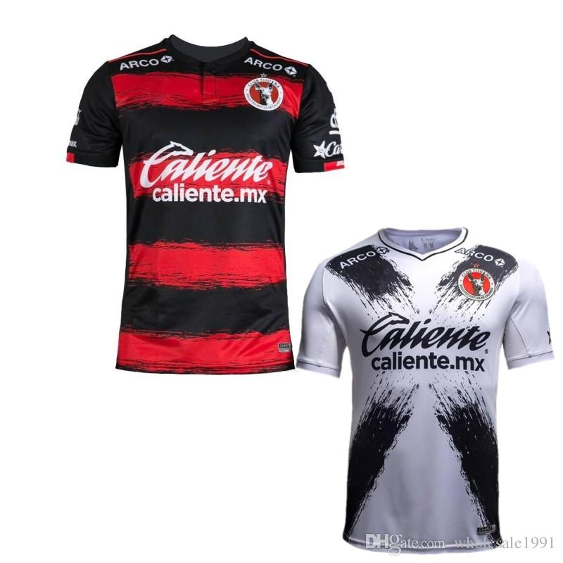 6fb22cd6ea3d8 18 19 Tijuana Club Soccer Jersey 2019 Tijuana Home Red Uniforme De Fútbol  De Calidad Superior 2018 México Club De Visitante Camisetas Blancas De  Fútbol S XL ...