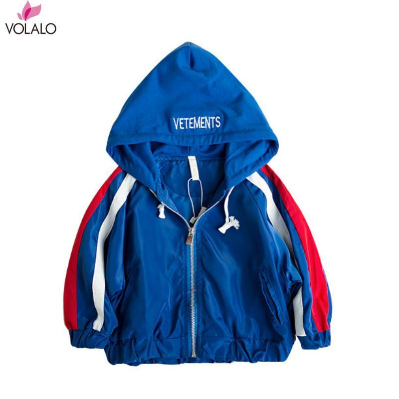 Kinder Mantel 2019 Neue Frühling Winter Jungen Jacke für Jungen Kinder Kleidung Mit Kapuze Oberbekleidung Baby Kleidung 18 Mt 2 3 4 5 6 7 Jahre