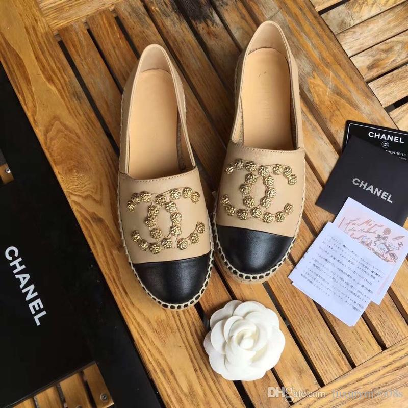 new concept 28d0f 08021 Classic Summer Sandals Espadrilles Fisherman Shoe Low Heel Genuine Leather  Leisure Shoes Many Color Size 35-42 Model 178532027