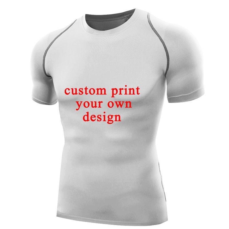 337b84ea1 Customized T Shirt Rashguards Print Your Own Design Men Compression Shirt  Short Custom T Shirt Tops Personalized Tshirts Shirt T Shirt Funny T Shirts  Cheap ...