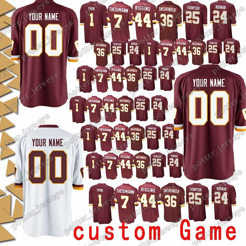 reputable site 705d5 27f8c Washington 53 Zach Brown Redskins Jersey 95 Jonathan Allen 73 Chase  Roullier 10 Robert Griffin III 92 Chris Baker 18 Josh Doctson Jerseys