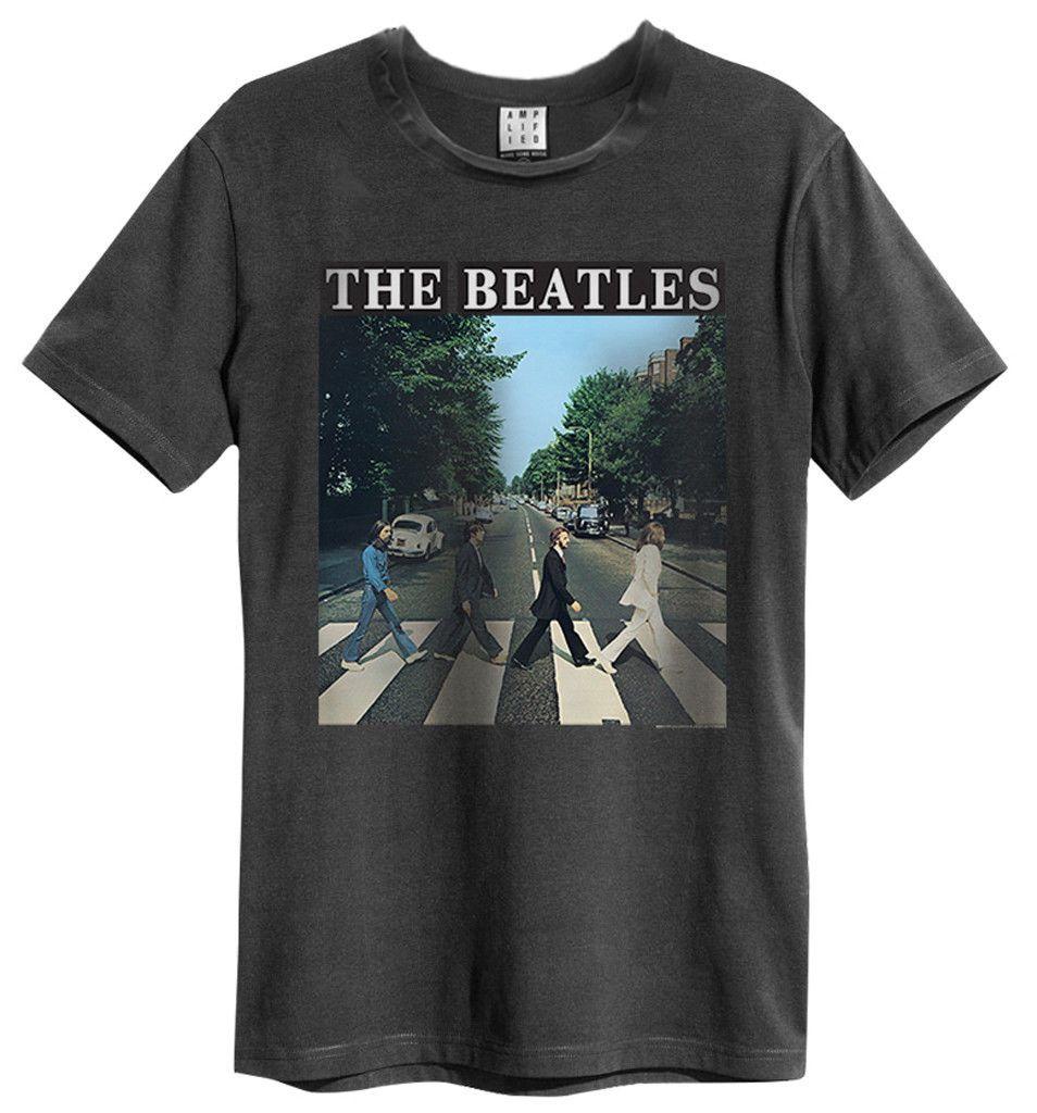 9ef9cf7fc Compre Camiseta De Los Beatles  Abbey Road  Ropa Amplificada ¡NUEVO  OFICIAL! Hombres Mujeres Unisex Moda Camiseta Envío Gratis A  13.91 Del ...