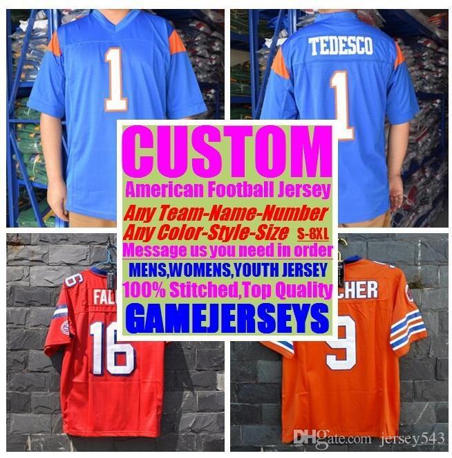 brand new b9503 dbe22 Customized american football jerseys college cheap authentic sports jersey  stitched mens womens youth kids 4xl 5xl 6xl 7xl top quality