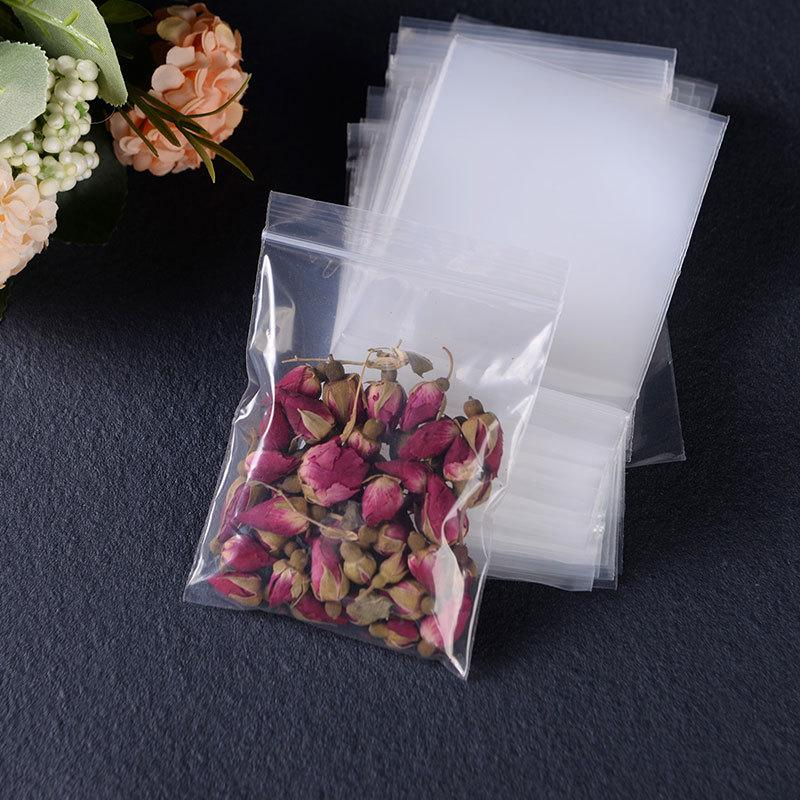 / Haute Qualité Clear auto-scellant Ziplock Pochettes Multi Taille Transparent Zipper Lock Sac En Plastique Pour Bijoux Emballage
