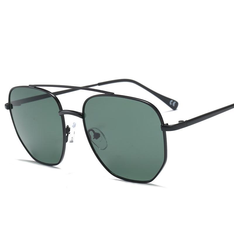114edaaae8 Compre Vazrobe Gafas De Sol Para Hombre 2019 Mujeres Gradient Gafas De Sol  Hombre Cuadrado Vintage Punk Verde Oscuro Rosa Lente A $43.11 Del Melontwo  ...