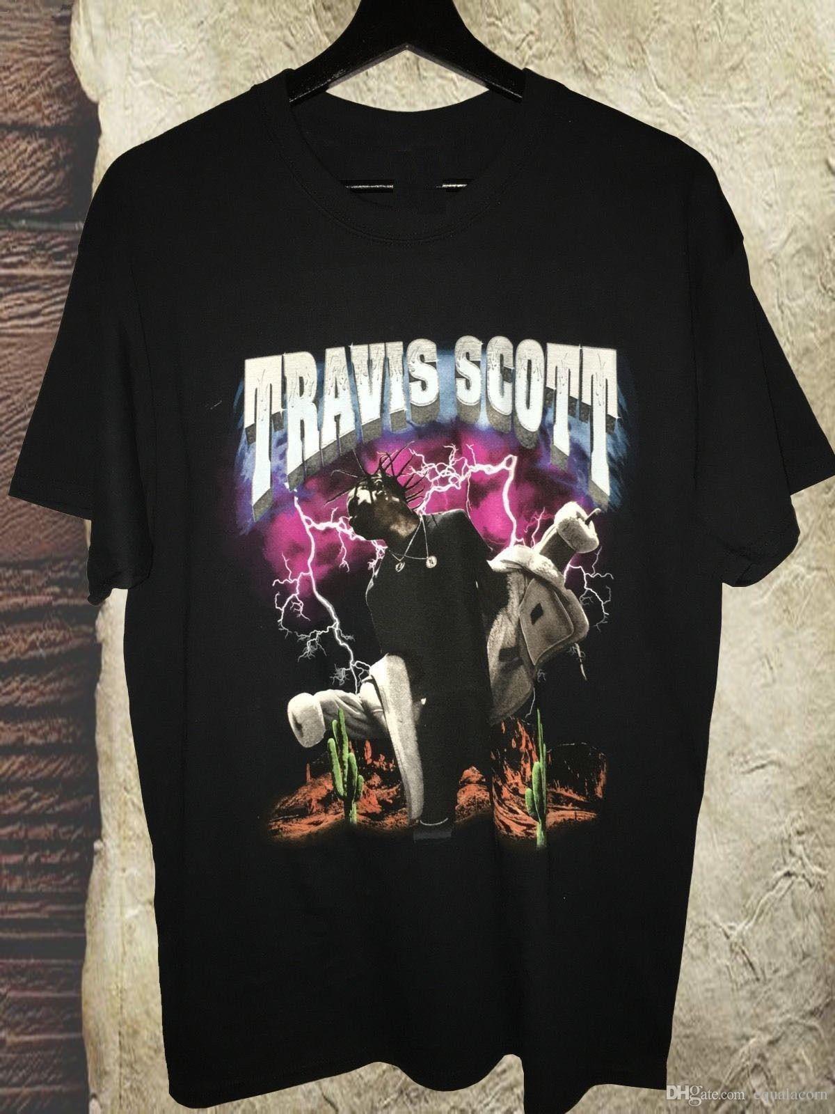 c6ed4a669fb2 Travis Scott Pen & Pixel T Shirt RODEO MADNESS Tour Merch Top Tee T Shirts  Shop Online Of T Shirts From Diyteeplaza, $10.66| DHgate.Com