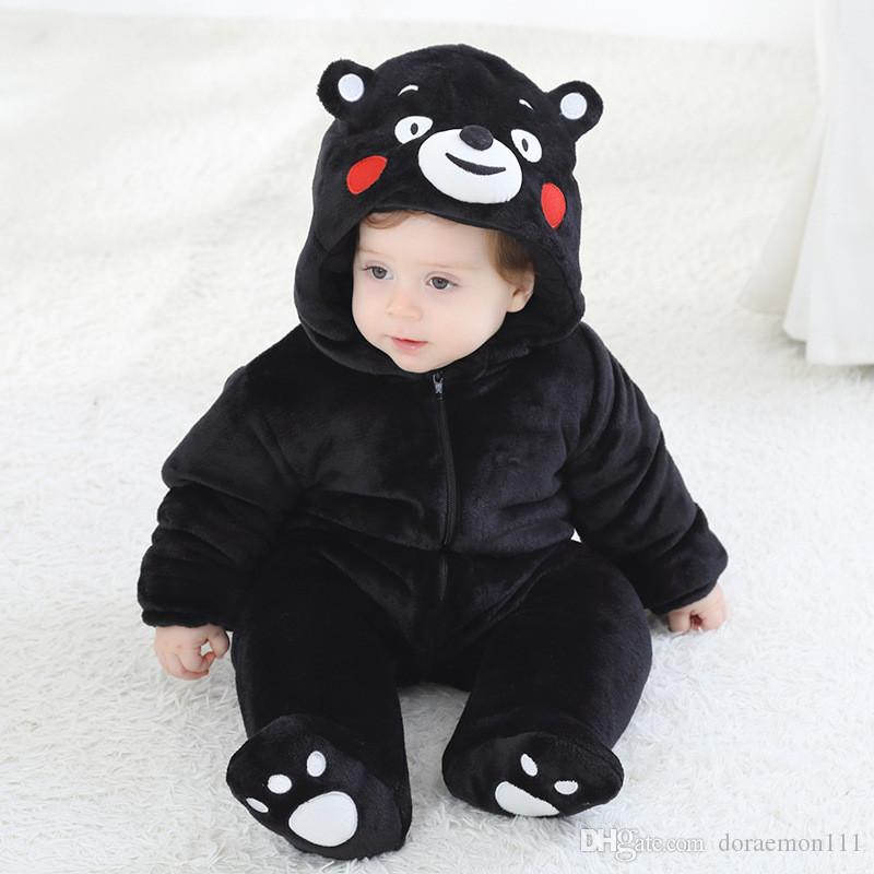 29f46a8ca 2019 New Spring Winter Baby Rompers Cute Cartoon Infant Girl Boy ...