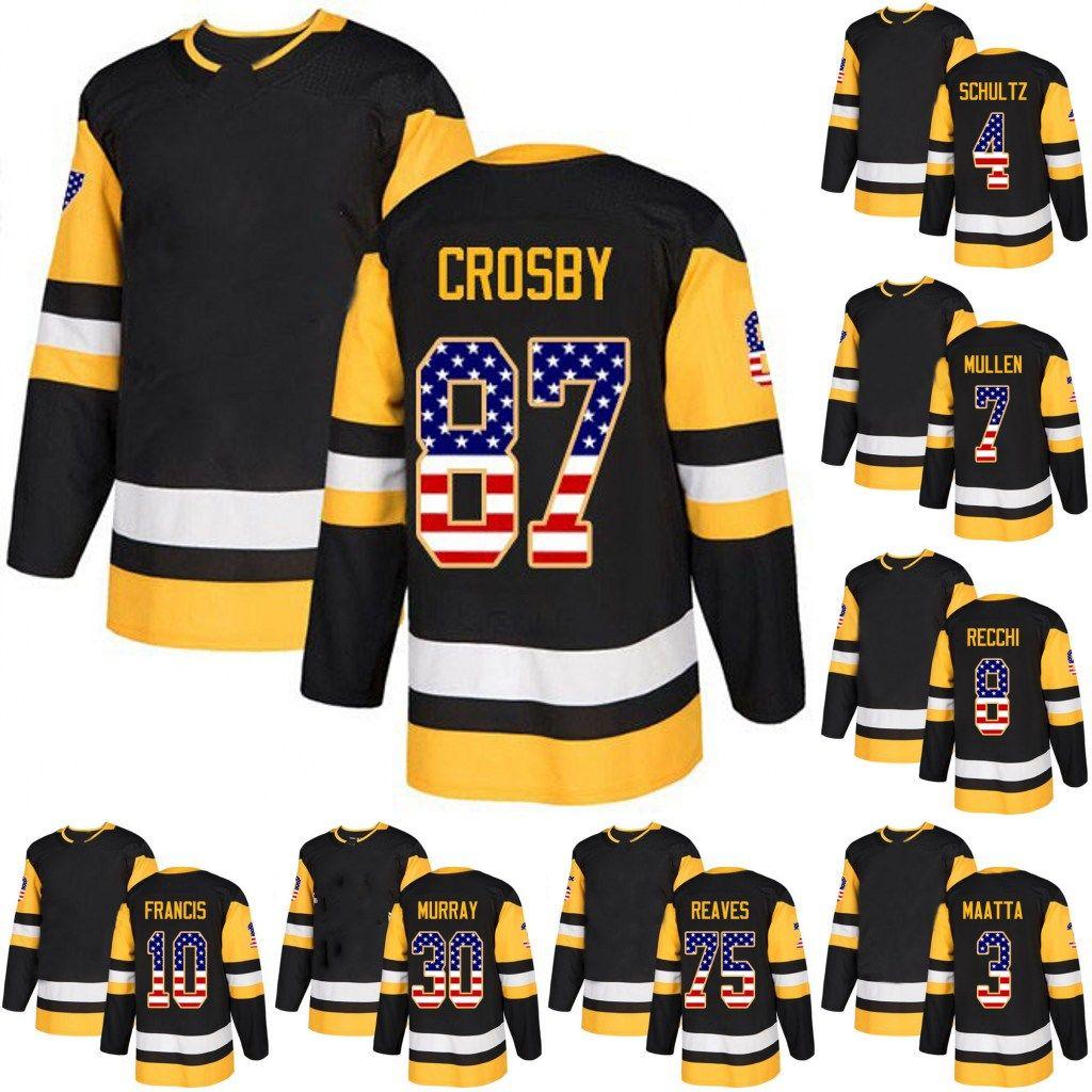 5380b21bd02 Sidney Crosby Leafs USA Flag Jersey 19 Derick Brassard 30 Matt ...