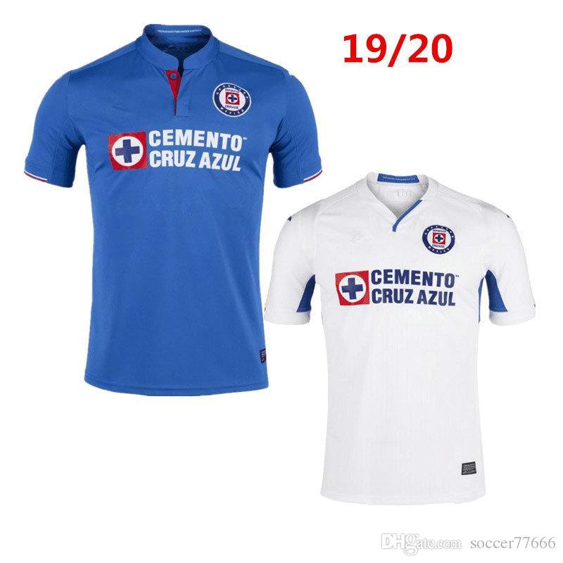 0a226f1f2e9 2019 2019 2020 Mexico Club Cruz Azul Liga MX Jersey Soccer CARAGLIO CAUTE  MONTOYA HERNANDEZ Football Shirts Camisetas De Futbol From Soccer77666