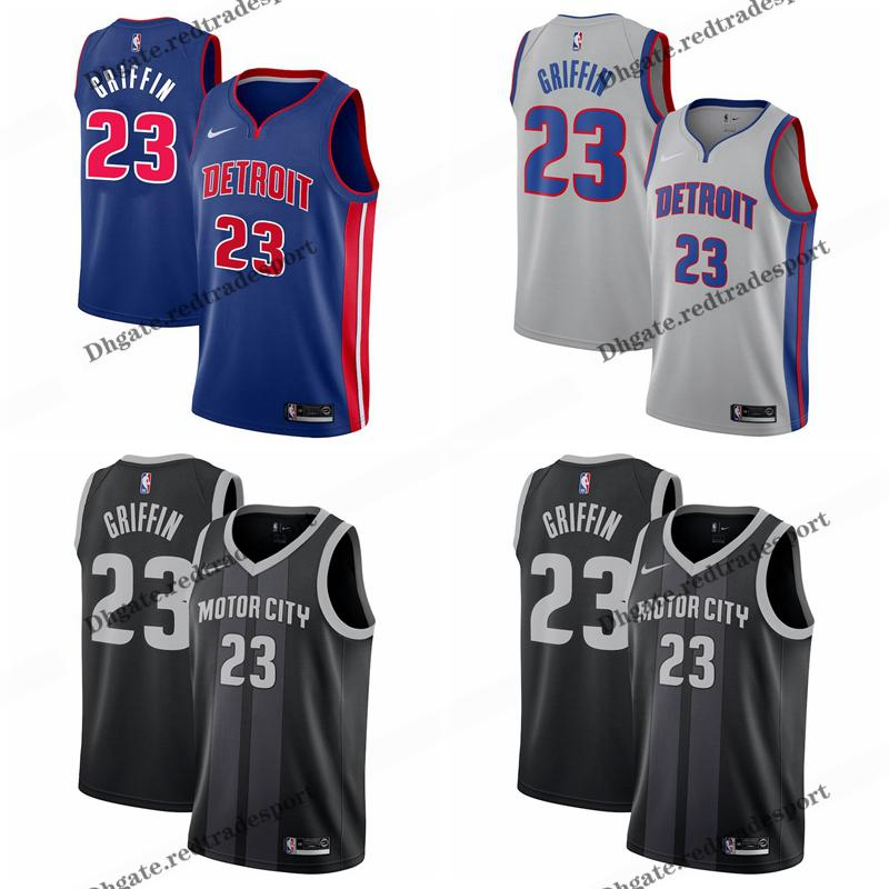 76cb803b3e0f 2019 2019 Earned Detroit 23 Pistons Blake Griffin Edition Basketball  Jerseys Cheap City Blake Griffin Edition Stitched Shirts S XXL From  Redtradesport