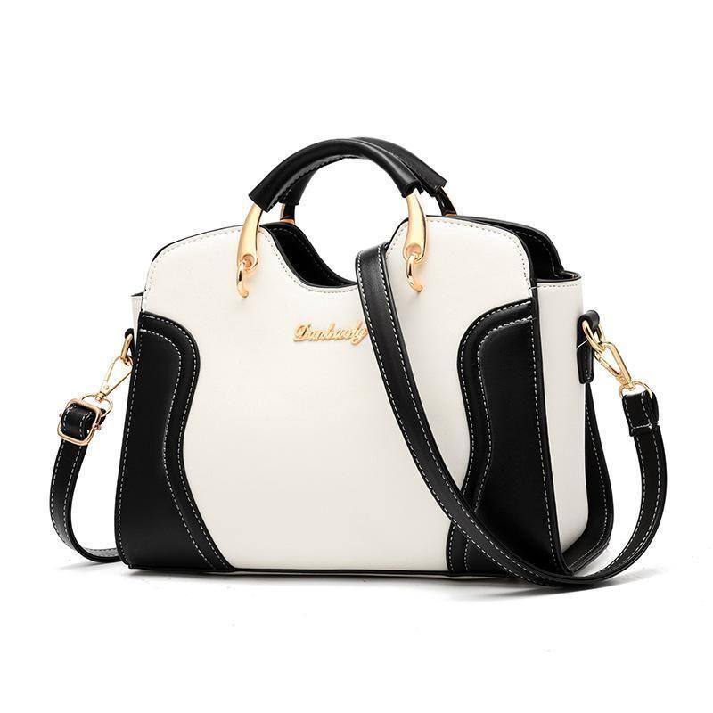 7095b0c7e777 Nice Luxury Handbags Women Bags Designer High Quality Pu Leather Women  Famous Brand Shoulder Bag PatchWork Female Crossbody Bags Cheap Bags Cute  Purses From ...