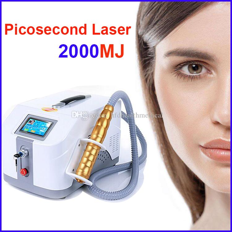 Pico Laser Tattoo Removal Laser Machine China Model Good Effects