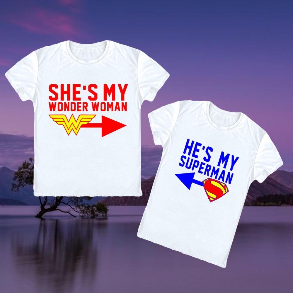 634122d67adf2 Compre Ella Es Mi Camiseta Día De San Valentín Wifey Novia Novio Pareja T  Shirt Amor Cónyuge Amante Camiseta A  22.09 Del Lvyou09