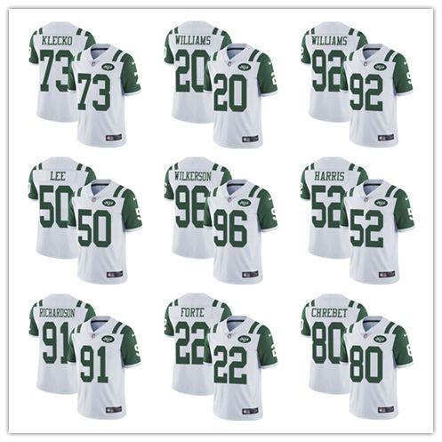 hot sale online dc01b 69384 #14 Sam Darnold 33 Jamal Adams 12 Joe Namath New York Men's Jets Jersey  Green White Football Jersey Cheap sales Free Shipping