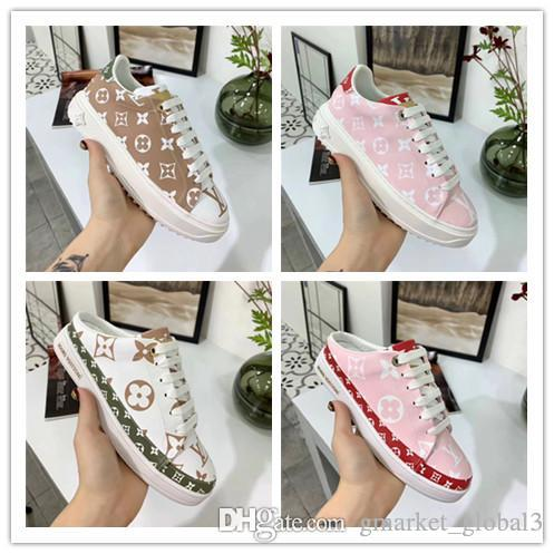 224992157a New TIME OUT SNEAKER Sneaker FRONTROW OPEN BACK TRAINER Trainer Women s  fashion sneakers Luxury designer Platform shoes 1A58AV Fashion