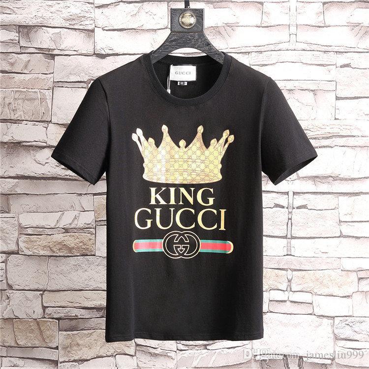 643f3b5f831c 2019 New Summer Designer T Shirts Mens Tees Luxury Brand T Shirt ...