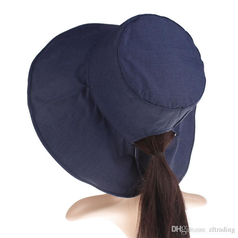 1854f6cad Compre Nuevo Diseño Mujeres Gorras Sombrero De Natación Para El Sol Sombrero  De Protección Solar Para Niños Grandes Sombrero Al Aire Libre Sombrero  Gorros ...