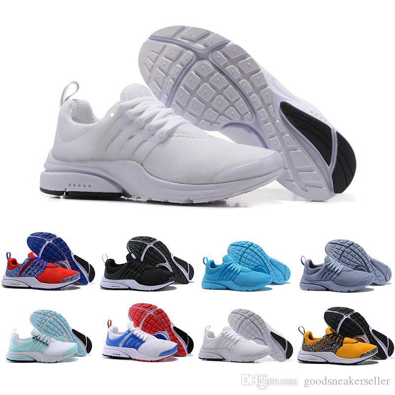 Más barato Presto Zapatillas de running para hombre Mujer Ultra BR QS Amarillo Presto Negro Blanco Oreo Jogging al aire libre para hombre Zapatillas
