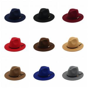 Woman Fashion Vintage Felt Hats Men Classic Jazz Hats Elegant Solid ... 3e745d9491d7
