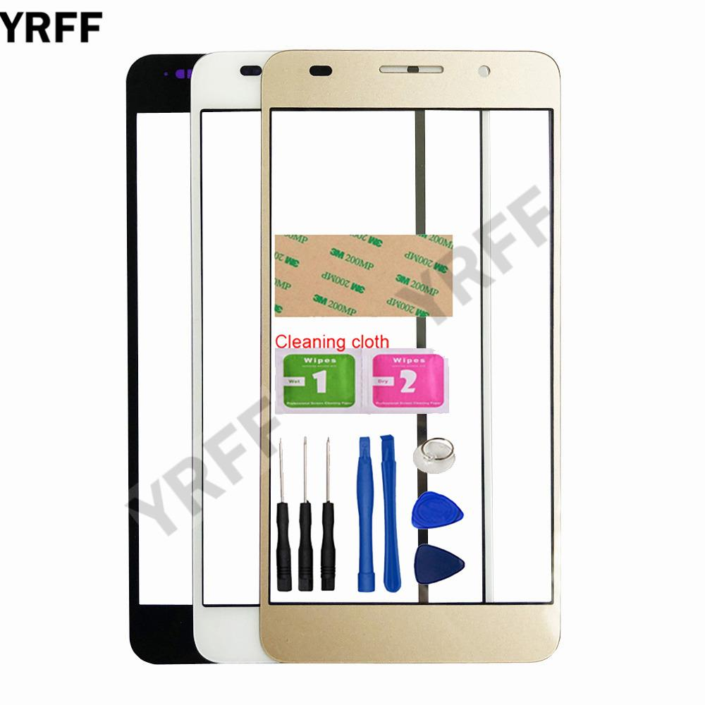 YRFF 5 0 Honor 6 Mobile Touch Screen Outer Glass For Huawei Honor 6 Front  Glass Panel Replacement