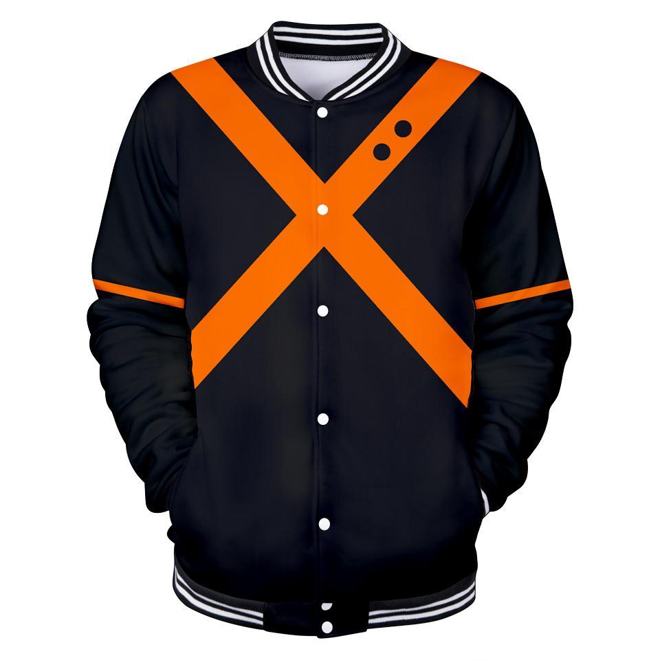 01dcabafc5863 MY HERO ACADEMIA Coat Jacket COS Autumn Winter Baseball Uniform Jacket  Unisex Couple Love Leisurely Easy To Match Parent Child Denim Jacket With  Wool Collar ...