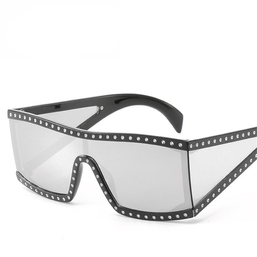 Acquista occhiali da sole di grandi dimensioni 2019 occhiali da sole