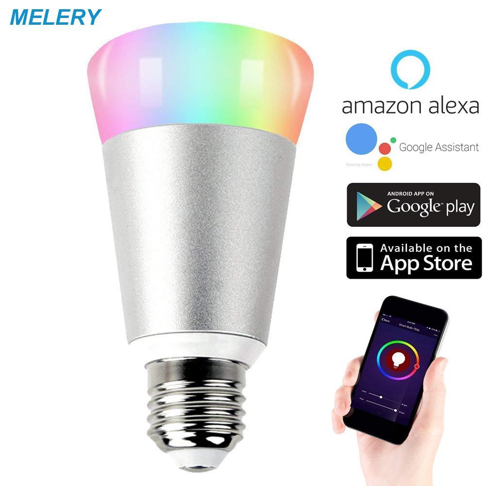 Wi Lampe Rgb Avec Daylight AlexaAssistant Smart Dimmable Multicolore GoogleIfttt Softlight Fonctionne Led Homekit A19 Fi Ampoule 5Aq3jL4cR