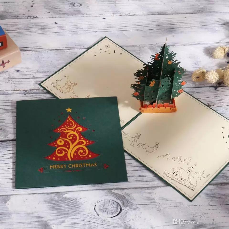 Christmas Card Birthday Greetings Card Vintage And Creative Mini