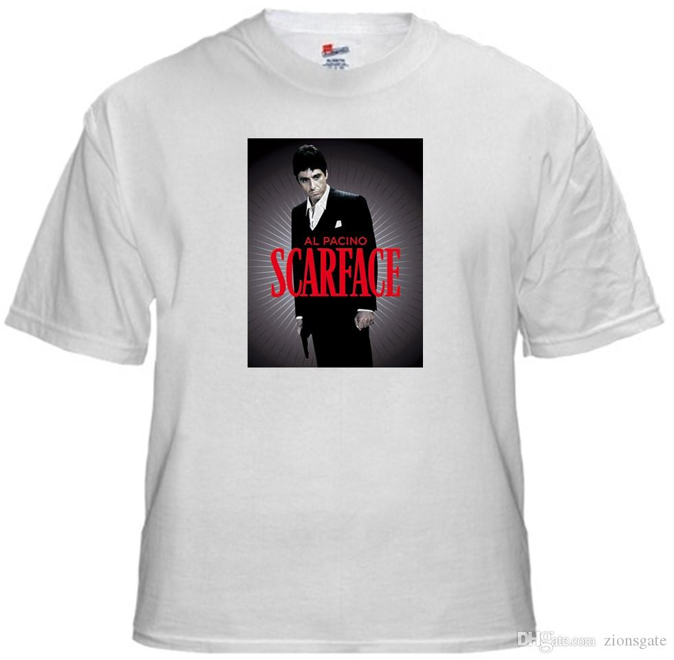 4e252457c4f1 Tee Shirt New Adult Unisex Al Pacino SCARFACE Quality Cotton T Shirt Cotton  T Shirt Create T Shirts From Zionsgate, $10.82| DHgate.Com