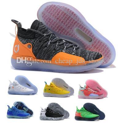 42c13c015b9 Eybl Kd 11 11s Basketball Shoes Sneakers 2019 Mens Gold Multi Still BHM Kevin  Durant XI Oero Foam Man Sports Trainer Designer Shoes Kd Basketball Shoes  ...