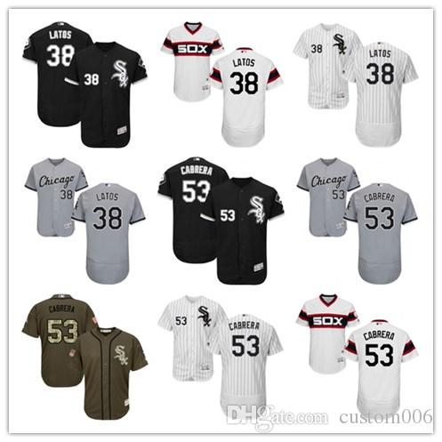 4b92a41d5 2019 2019 Chicago  38 Mat Latos 53 Melky Cabrera Men WOMEN YOUTH ...