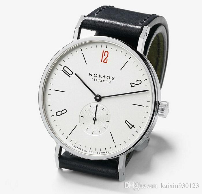 4a488be69002 Mens Relojes De Primeras Marcas De Lujo Nomos Famosos Relojes De Moda  Casual De Cuero Hombres Relojes De Cuarzo Reloj Hombres Relogio Masculino A   19.29 Del ...