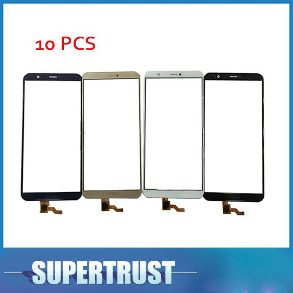 10pcs For Huawei P Smart Fig Lx1 Fig L21 Fig Al10 For Huawei Enjoy 7s Touch Screen Sensor Digitizer Black White Gold With Tape