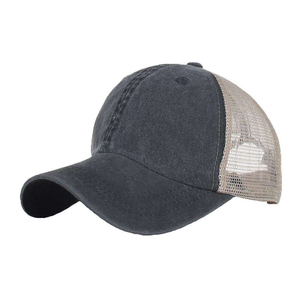 58028e8c Feitong 2019 Summer Brand New Cotton Mens Hat Unisex Summer Baseball Cap  Washed Cotton Hat Outdoor Sport Hats Casual Cap Embroidered Hats Leather  Hats From ...