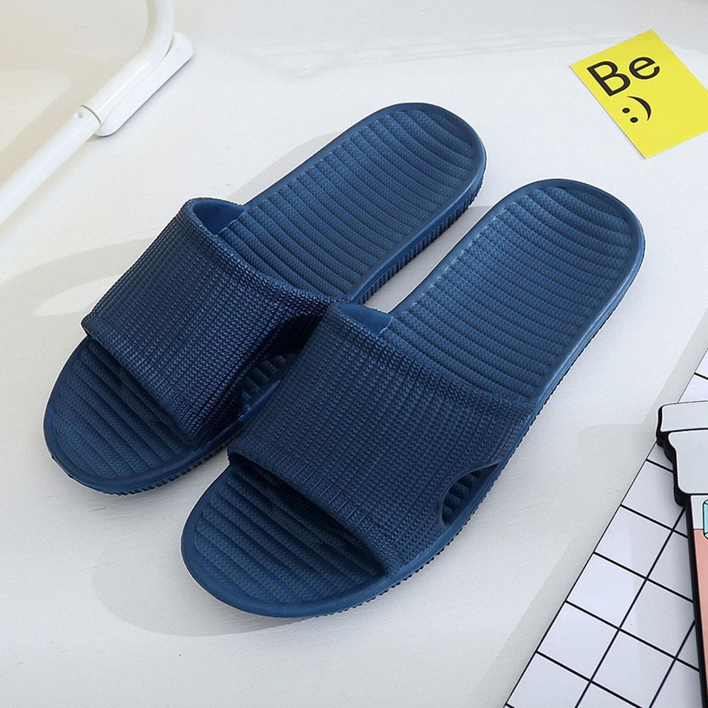 31b7633965d6 Man Stripe Flat Bath Slippers Summer Sandals Indoor   Outdoor Slippers  Summer Sandals Indoor   Outdoor Nov21 Slippers Cheap Slippers Man Stripe  Flat Bath ...