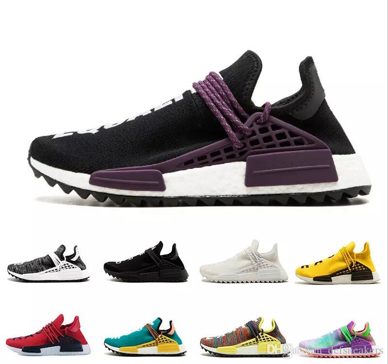 e31989d49fb 2019 2019 NMD Human Race TR Men Running Shoes Pharrell Williams Nmds Human  Races Pharell Williams Mens Womens Trainers Sports Sneakers 36 45 From ...