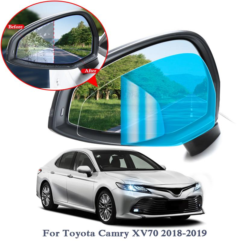 2019 Anti Fog Car Window Clear Film Car Rearview Mirror Protective